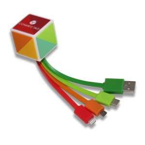 Multi cable de carga 4SOME 3D