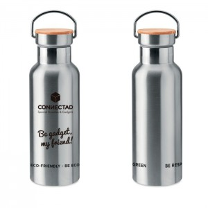 Botella térmica de acero (500 ml) | Helsinki - MO9431