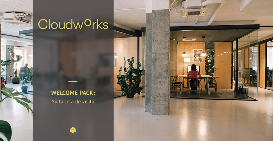 WELCOME PACKS PERSONALIZADOS PARA COWORKINGS