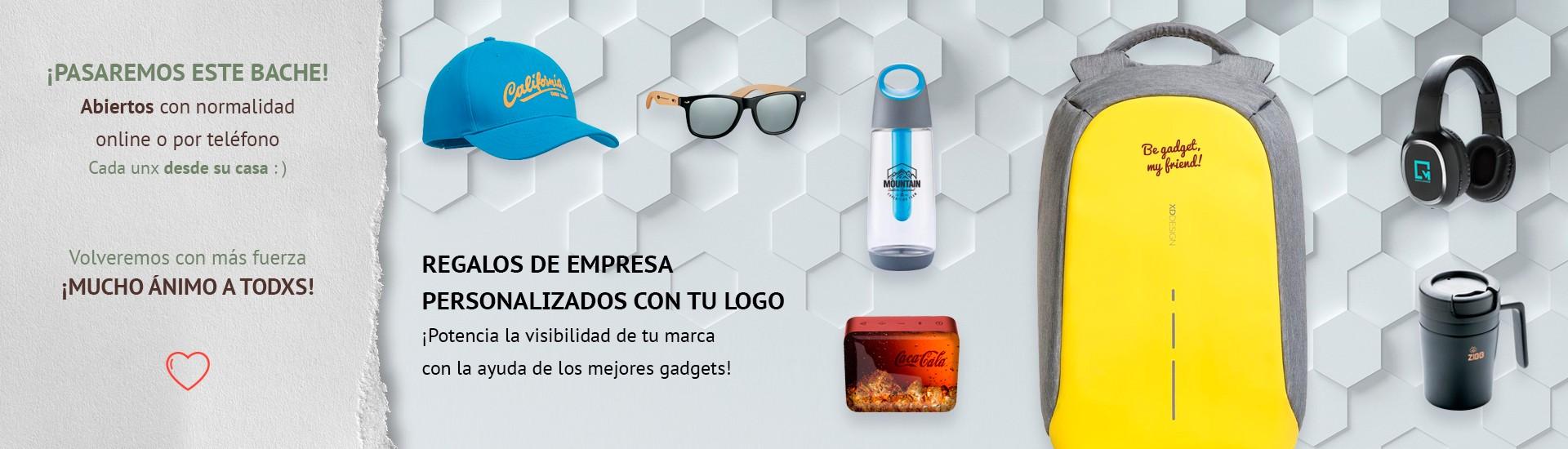 Regalos de empresa personalizados con tu logo
